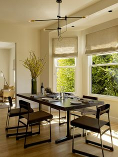 moderno comedor porción Yute Diseño Interior