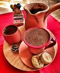 Nothing better than cup of coffee Good Morning Coffee, Great Coffee, Hot Coffee, Coffee Break, Coffee Cafe, Coffee Drinks, Mini Desserts, Café Chocolate, Chocolate Caliente
