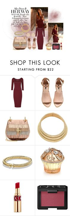 """""""Do It Your Way"""" by cherea on Polyvore featuring H&M, Chloé, David Yurman, House of Sillage, Yves Saint Laurent, NARS Cosmetics and Linda Farrow"""
