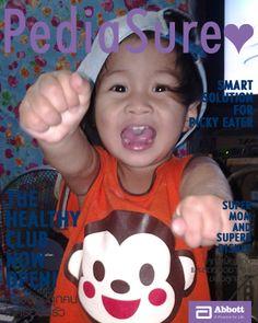 ภาพซุปตาร์ตัวน้อยโดยคุณ Chumtosanak Tunwa ...มาปั้นลูกน้อยให้เป็นซุปตาร์หน้าปก พร้อมลุ้นผลิตภัณฑ์มากมายจาก Abbott ได้ที่ http://www.thehealthyclub.com/bigcover/index.aspx