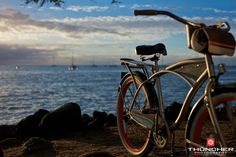 Panama Jack limited edition Huffy cruiser bike for getting around Lahaina town. Boyfriend Video, Girl Friendship, Vacation Days, Gardens By The Bay, Gopro Hero, Summer Pictures, My Ride, Outdoor Activities, Summer Beach