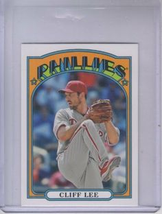 2013 Topps 1972 Topps Minis #TM33 Cliff Lee by Topps. $1.00. 2013 Topps Co. trading card in near mint/mint condition, authenticated by Seller