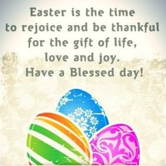 It's Easter Sunday! Tap to see more Happy Easter Quotes & start spreading the greetings! - @mobile9