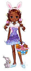 Candy Doll Animadas: Candy Doll Negras Coelhinhas