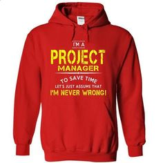 NVW Project Manager - #t shirt #black zip up hoodie. CHECK PRICE => https://www.sunfrog.com/LifeStyle/NVW-Project-Manager-4858-Red-4153518-Hoodie.html?id=60505