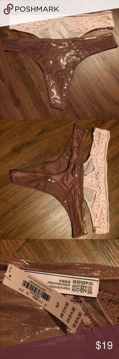 I just added this listing on Poshmark: Set of 2 VS thongs. #shopmycloset #poshmark #fashion #shopping #style #forsale #Victoria's Secret #Other