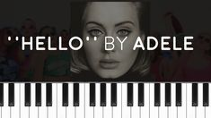 Adele - ''Hello'' (PIANO TUTORIAL)