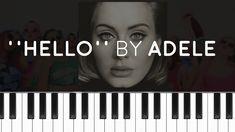 Adele - ''Hello'' (PIANO TUTORIAL)