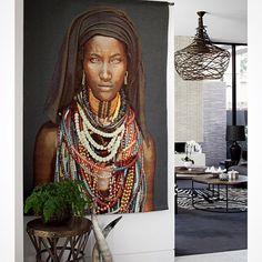 """Introducing ""Baro Tura"" our second incredible wall hanging we have managed to source from world renowned photographer Mario Gerth - currently available from homebytribal.com.au. Photo credit Elisa Watson Photography"