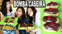 #CULINÁRIA TEEN Como fazer bomba de chocolate caseira