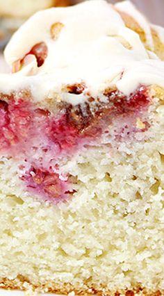 Raspberry Pecan Coffee Cake
