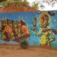 Dazzling street art in Norwood/Orange Grove, Johannesburg. Art by Rekso.  #joburg #Jozi #johannesburg #norwood #cityscape #city #street #streetart #streetstyle #travel #art #graffiti #wall #travelling #traveling #travelgram #instagood #instatravel #thisissouthafrica  #thisisjohannesburg #artwork #urban #samsung #graffitisouthafrica #justwritingmyname #nofilter #southafrica #rekso #dazzling