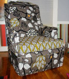 before and after: jessica's chair | Design*Sponge