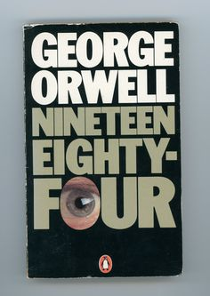 george orwell nineteen eighty-four 1984 book cover