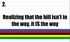 Are hills your way?