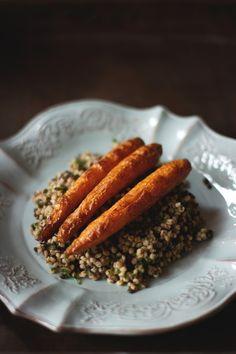 Sorghum & lentils salad - vegan, gluten-free