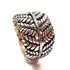 GAVAN RILEY Ring.  Last purchase in NZ. Silver Fern, Ferns, Silver Rings, Sterling Silver, Jewelry, Jewlery, Jewerly, Schmuck, Jewels