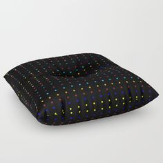 Dots & Colors Floor Pillow by Scar Design. #dots #colors #floorpillow #homedecor #homegifts #giftsforhim #giftsforher #bachelorgifts #bachelorhome