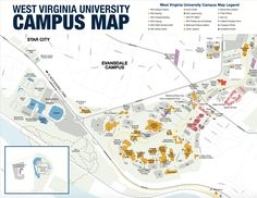 37 Best Tour Wvu Images Campus Map The Visitors College Life