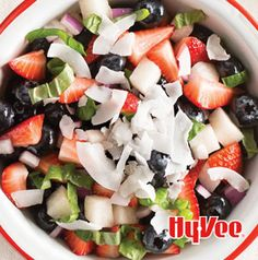 Banish boring fruit salads from your table. Fiesta Fruit Medley is the perfect balance of sweet and savory.