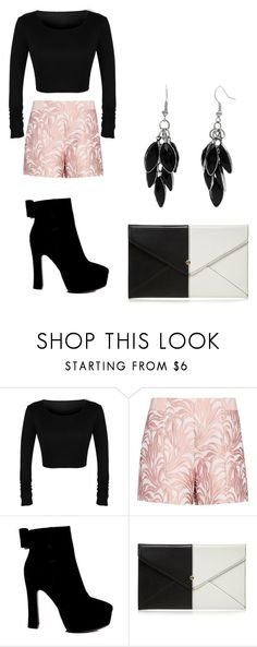 """FAB!!!"" by yasmineabouzaher ❤ liked on Polyvore featuring Exclusive for Intermix, Red Herring and Alexa Starr"