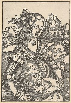 Salome with the Head of St. John the Baptist Hans Baldung (called Hans Baldung Grien) (German, Schwäbisch Gmünd (?) 1484/85–1545 Strasbourg ...