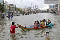 Water-borne Diseases Spread after Chennai floods