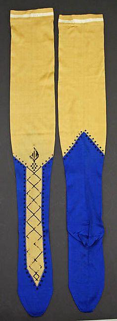 Stockings Date: 1865 Culture: French Medium: silk