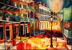 Royal Street by Diane Millsap
