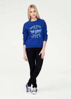 #new #newcollection #newarrivals #women #womencollection #levis #liveinlevis #levisstrauss #fw15 #fallwinter15 #classic #dorito #sweatshirt #blue #standard
