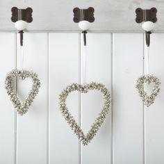 Heart Shaped Bells #Rigbyandmac www.rigbyandmac.com
