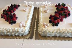 La scorsa settimana ho avuto il compito (piacevolissimo) di preparare due torte per un compleanno importante di un mio amico. Un compit...