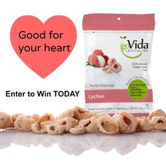 Like if you enjoy freeze dried fruit. Then enter to win GoVida Fruit for your family! The perfect pick-me-up healthy snack.