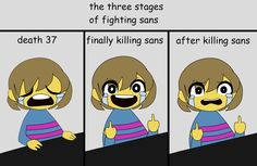 Why the heck do you always feel guilty after kills sans(because he lost his bro that's why! Undertale Comic Funny, Undertale Memes, Undertale Cute, Undertale Fanart, Frisk, Cartoon Crossovers, Lol, Comic Sans, Bad Timing