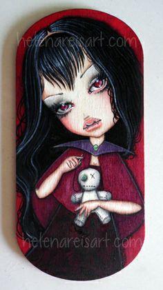 Voodoo Vamp - Print http://www.pinterest.com/source/helenareisart.com/ http://helenareisart.com/