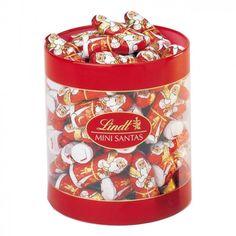 LINDT 10G MINI CHOCOLATE SANTAS