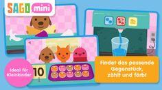 Sago Mini Pet Cafe (deutsch, 2,69 €) Empfohlenes Alter: bis 5 Jahre