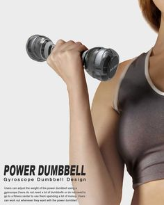 Power Dumbbell by Jun Young Choo » Yanko Design