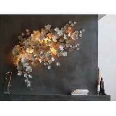 Art et Floritude Pandore wall light - Wall Sconces - Modenus Catalog Wall Sconce Lighting, Wall Sconces, Overhead Lighting, Lighting Ideas, Deco Luminaire, Decoration Inspiration, Can Lights, Wall Installation, Wall Treatments
