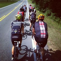 Rolling out on the #lunchride from our home office #rideyourbike.