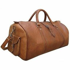 Bag Genuine Leather Vintage Travel Men Overnight Duffel Luggage S Duffle  Large aa0dd445446c8