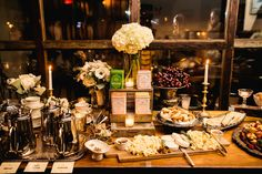 Brooklyn Winery's wedding antipasti spread. All of the bites you want with a glass of wine!