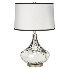 Polished Glass Table Lamp - Silver : Target $49.99