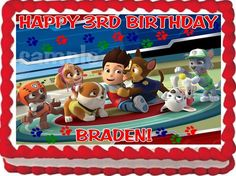 Sawyer decided he wanted a paw patrol birthday party this year in case you are lucky enough that your life doesnt revolve around nick jr paw patrol is. Description from bomrobot.com. I searched for this on bing.com/images