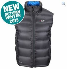 Rab Neutrino Men's Hydrophobic Down Vest | GO Outdoors