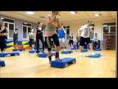 Step by Ale (Full Block Step Aerobic Workout, Step Up Workout, Aerobics Workout, Jenny Ford, Step Aerobics, Weight Loss Inspiration, Workout Videos, At Home Workouts, Fitness Motivation