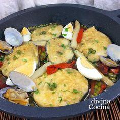 La merluza a la vasca es una receta marinera muy tradicional. Con una buena merluza de pincho tendrás un plato perfecto para grandes ocasiones.