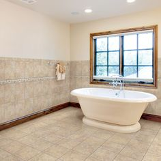 "Arizona Tile ""Sardegna"" and a great soaking tub"