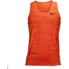 Nike Dri-Fit Touch Tank in Electro Orange/Team Orange/Black as seen on Cristiano Ronaldo