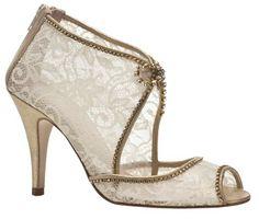 Vintage-inspired bridal shoes - Harriet Wilde